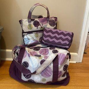 Thirty-One Purple Print Bundle